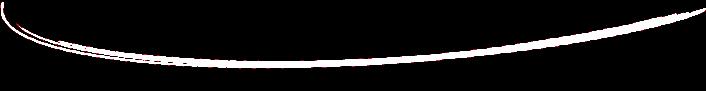 Ligne blanche en arc